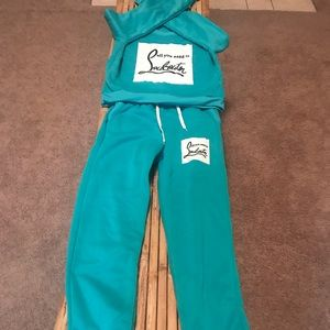 Other - Louboutin inspired sweat suit
